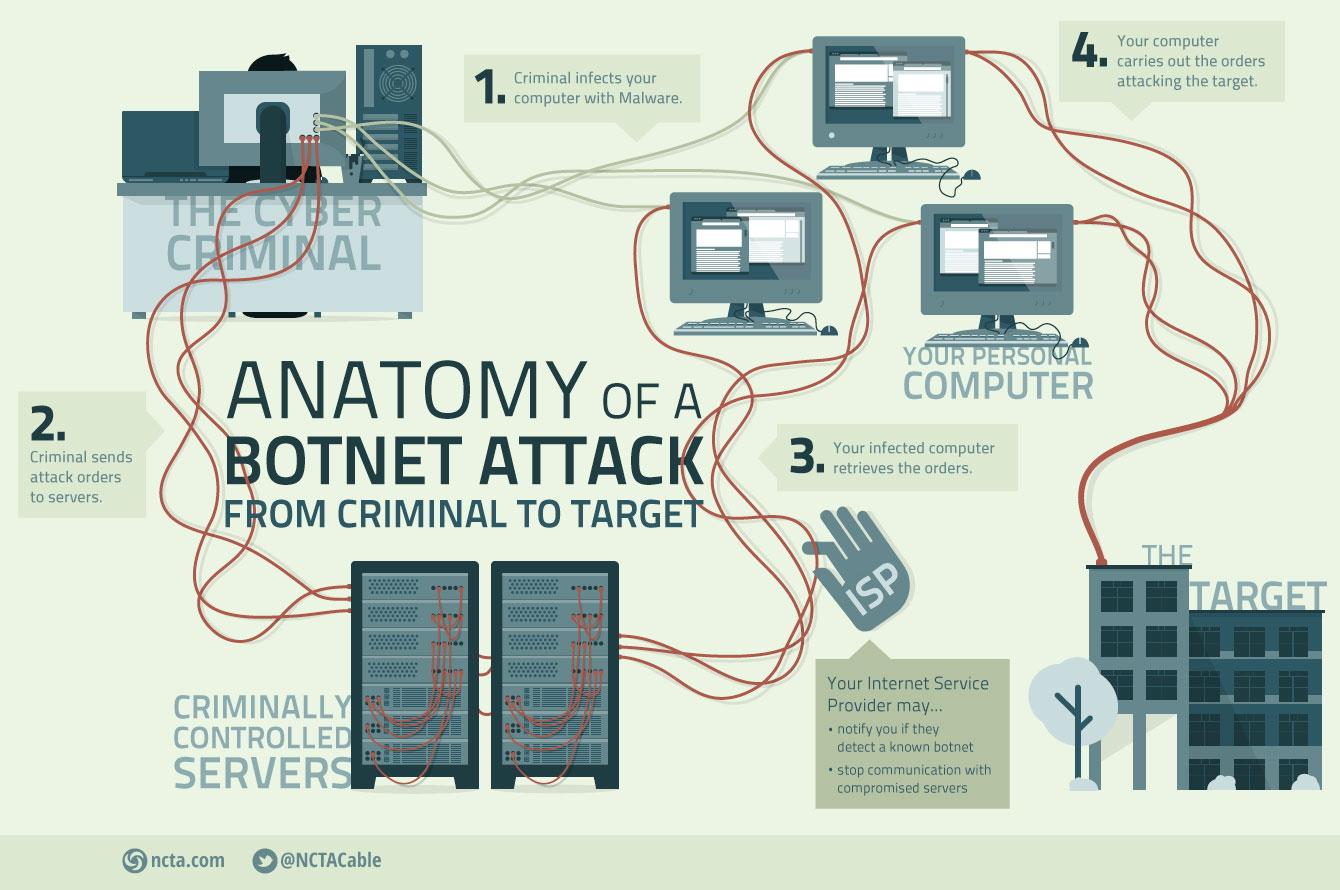 Anatomy of a botnet attack - Cybersecurity Observatory